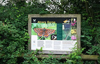 Alners Gorse signpost
